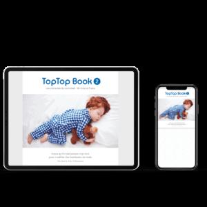 E-book toptop book 2 Sommeil dodo 18 mois à 5 ans