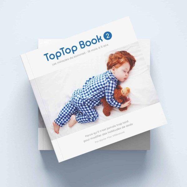 TopTop Book Tome 2 fond bleu